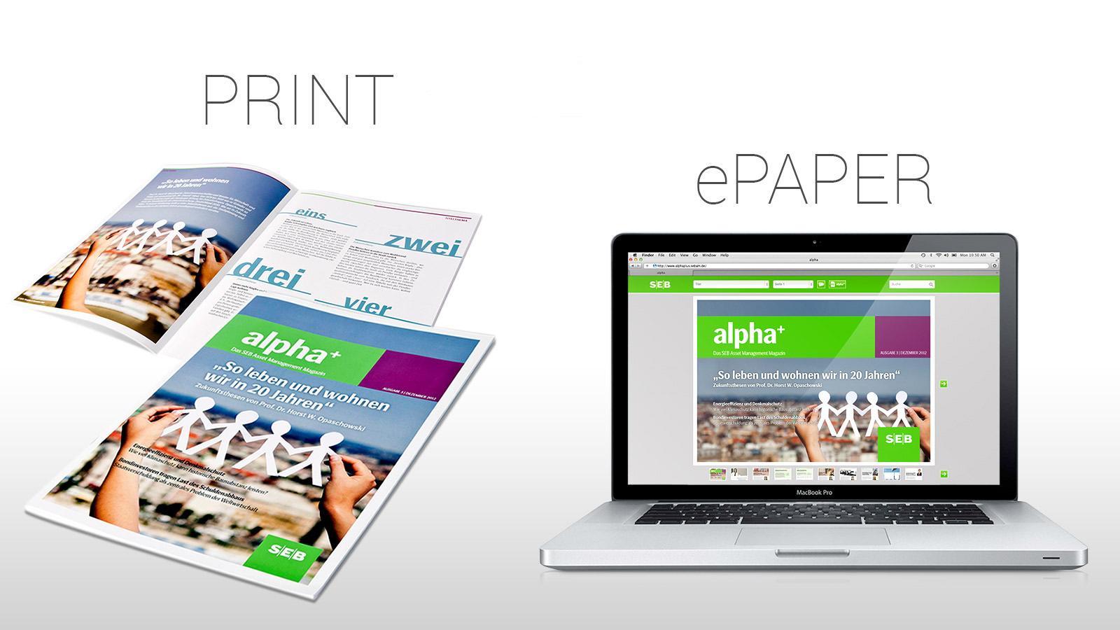 Print-Broschüre & ePaper